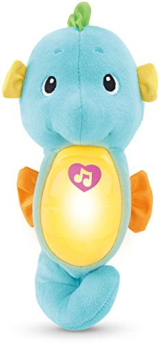 Fisher-Price Soothe & Glow Seahorse, Blue (Fisher Price Infant To Toddler Rocker Blue)