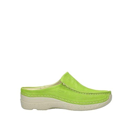 Wolky 6250 Rollo Verde Slide Zapatillas Seamy Bqw6vTxC