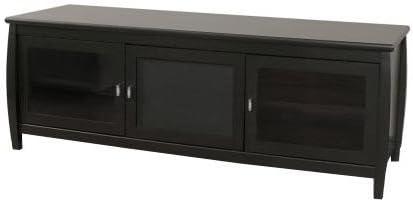 Tech Craft Swbl60 60 Inch Wide Flat Panel Tv Credenza Black Amazon Ca Electronics