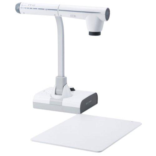 Elmo 1331 Model TT-12 Document Camera, 300° Swivel, Adjustable Free-Angle Camera Head & Arm, Powerful 96x Zoom (12x Optical zoom x 8x Digital zoom), 3.4-Megapixel CMOS Image Sensor
