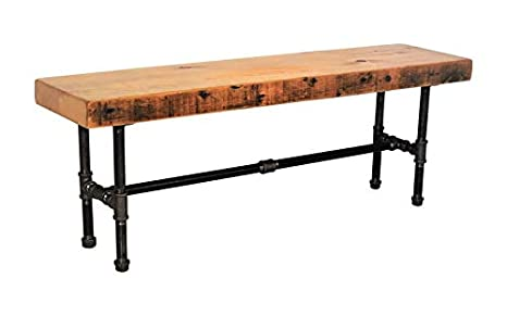 Miraculous Amazon Com Barn Xo Farmhouse Bench Made With Reclaimed Wood Unemploymentrelief Wooden Chair Designs For Living Room Unemploymentrelieforg
