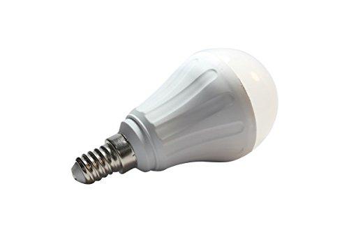 Aigostar 175528 - Bombilla LED A60 de 8W, rosca pequeña y luz cálida, A+, 230V, E14: Amazon.es: Iluminación