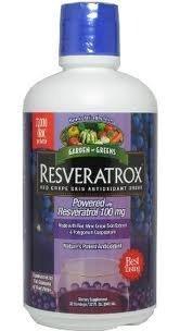 Garden Greens Resveratrox Red Grape Skin Antioxidant Drink -- 32 fl oz