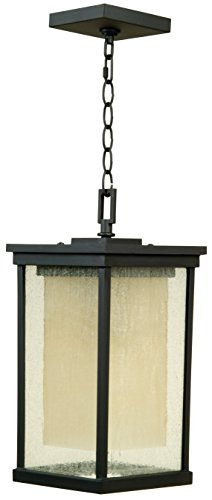 Exteriors Z3721-92 by Outdoor Riviera Large Pendant in Oiled Bronze - Craftmade Exterior Lighting