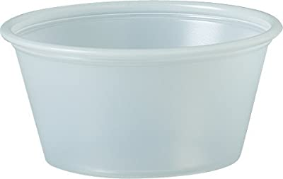 Solo Treated Paper Souffle Portion Cups for Measuring, Medicine, Samples, Jello Shots (Pack of 250)