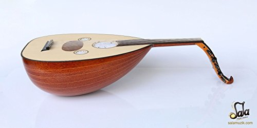 Turkish Mahogany String Instrument Oud Ud NAO-201M by SALA