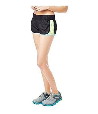 Aeropostale Womens Neon Stripe Athletic Workout Shorts 001 XS