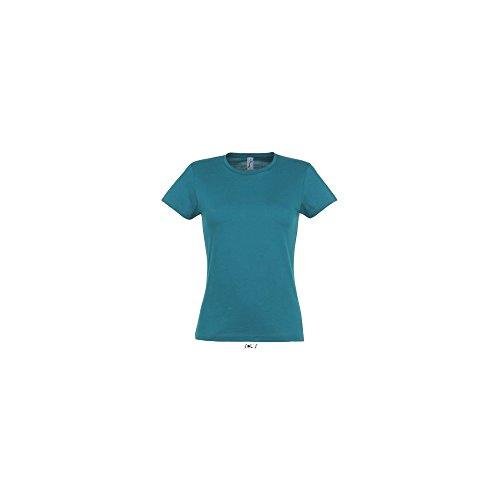 SOL´S Ladies T-Shirt Miss, Größe:M, Farbe:Duck Blue