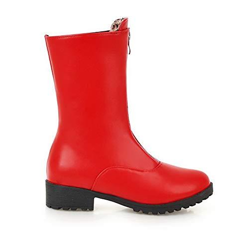 Abl11072 Femme 5 Compensées Rouge Balamasa 36 Red Eu Sandales 1CqnB