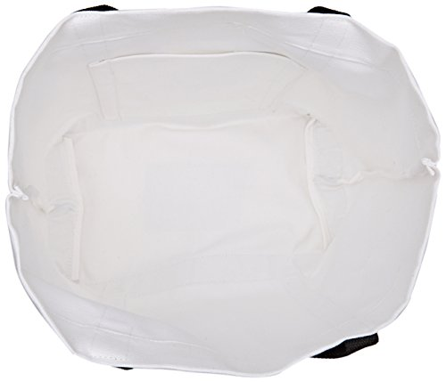 Vanessa Bruno Cabas Medium + Coton Et Message - Borse Tote Donna, Bianco (Blanc), 18x33,5x49 cm (W x H L)