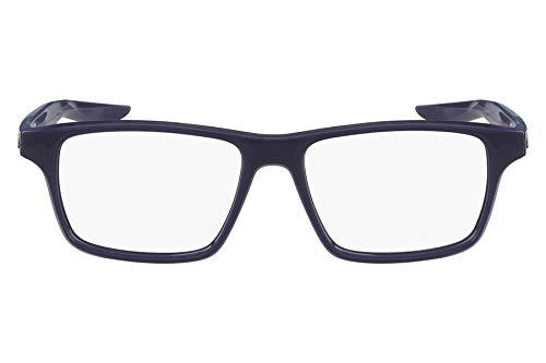 Óculos Nike Nike 7112 420 Azul Escuro Translúcido Lente Tam 53