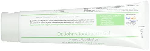 Hyalogic Dr. Johns Toothpaste Gel, 0.19 Ounce