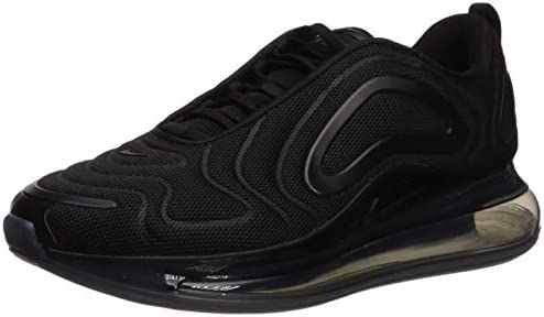 Nike Men S Air Max 720 Black Black Anthracite Mesh Casual Shoes