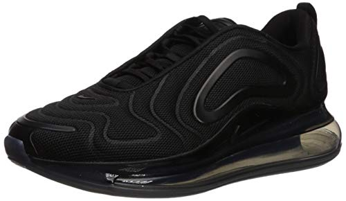 Nike Men's Air Max 720 Black/Black/Anthracite Mesh Casual Shoes 10 M US