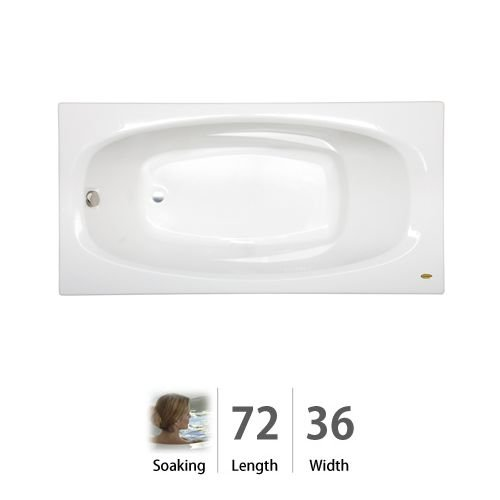 Jacuzzi 9180959WH Amiga 6-Foot Acrylic 72-Inch by 36-Inch...