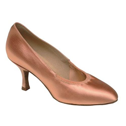 1008 Ladies' Court Shoe with a 2.5 Inch Contour Heel