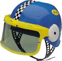 Child's Plastic Race Car Costume Helmet (Race Car Costume Helmet)