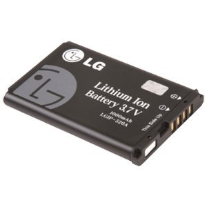 LG LGIP-520B Lithium Ion Cell Phone Battery - Proprietary - Lithium Ion (Li-Ion) - 1000mAh - 3.7V DC - Non-Retail Packaging