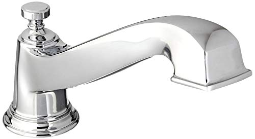 - Moen TS923 Rothbury Two-Handle Low Arc Roman Tub Faucet without Valve, Chrome