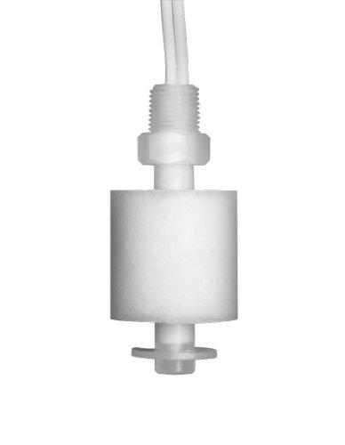 Madison M8000 Plastic Full Size Miniature Liquid Level Float Switch with Polypropylene Stem, 30 VA SPST, 1/8