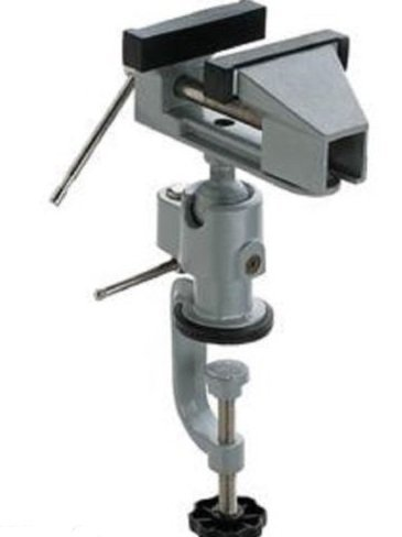 SMALL METAL CLAMP ON TABLE TABLE HOBBY MINI VISE TOOL VICE ARTICULATING