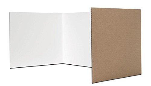 Corrugated Study Carrel - Flipside Products Corrugated Study Carrels, 12
