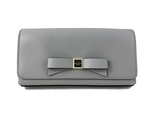 Kate Spade New York Montford Park Smooth Peira Clutch Purse in Stone Ice by Kate Spade New York