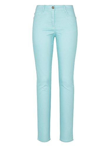 RECOVER pants Vaqueros slim fit JANA también tallas grandes Slim Fit Mujer azul cielo