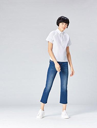 FIND Cotone Donna Blusa Bianco in White q0qzw1r