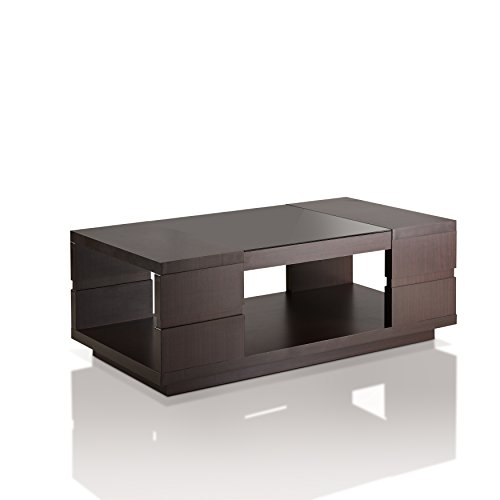 HOMES: Inside + Out ioHOMES Harbach Modern Coffee Table, Walnut Review