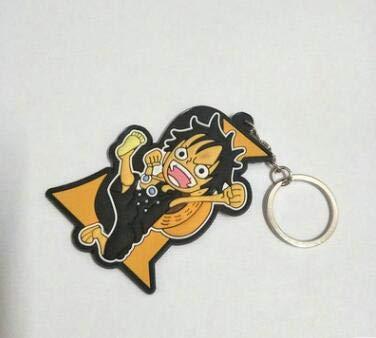 Key Chains . - Japanese Anime One Piece Roronoa Zoro PVC ...