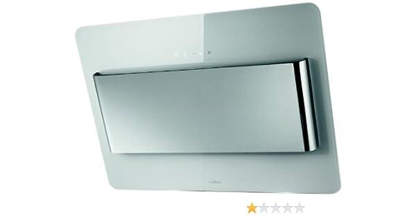 Elica BELT WH/F/80 De pared Blanco 800m³/h - Campana (800 m³/h, Recirculación, 43 dB, 61 dB, 40 cm, 65 cm): Amazon.es: Grandes electrodomésticos