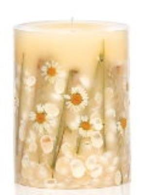 Rosy Rings Beach Daisy Large 9 Inch 300 Hour Pillar Botanical Scented Candle ()