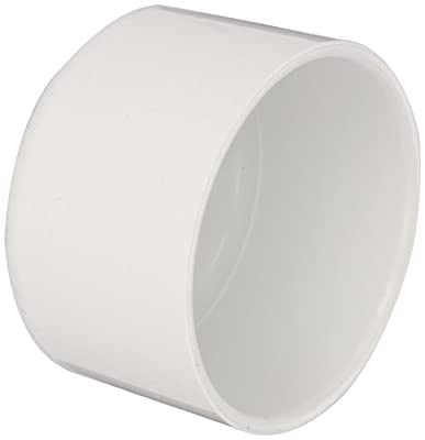 Spears PVC Pipe Fitting, Cap, Schedule 40, Socket
