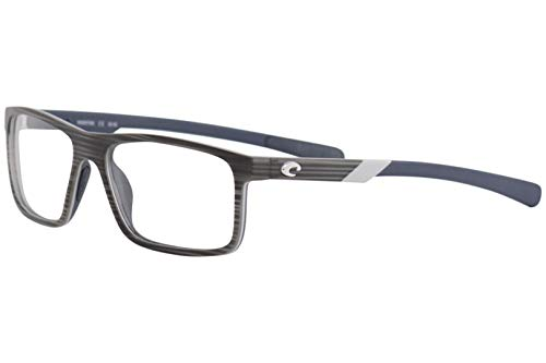 Costa Del Mar Eyeglasses Ocean-Ridge OCR100 100 Silver Teak Optical Frame 55mm