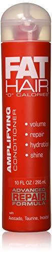 Samy Fat Hair 0 Calories Advanced Repair Formula Amplifying Conditioner, 10 Ounce