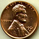 1961 D Lincoln Memorial Cent Brilliant Uncirculated