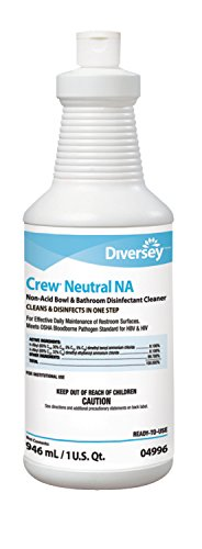 Diversey Crew Neutral Non-Acid Bowl and Bathroom Disinfectant by Diversey