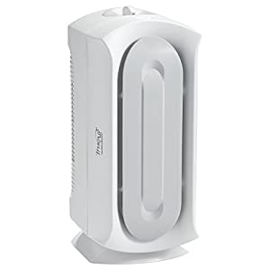Hamilton Beach 04384 Air Purifier, Odor Eliminator, Permenant HEPA Filter, For Allergies & Pets, TrueAir Ultra Quiet, White