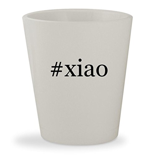 Price comparison product image #xiao - White Hashtag Ceramic 1.5oz Shot Glass