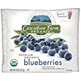 Cascadian Farm Organic Blueberry, 8 Ounce -- 12 per case.
