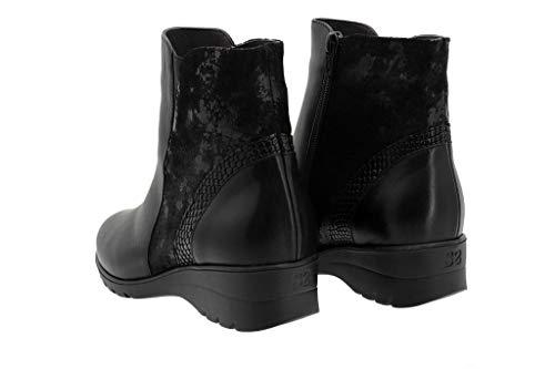 Femme Chaussures Lacets Piesanto Noir À De Ville Pour nU1qxCFqw