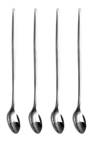 Dagne Latte Spoons, Stainless steel - Set of 4