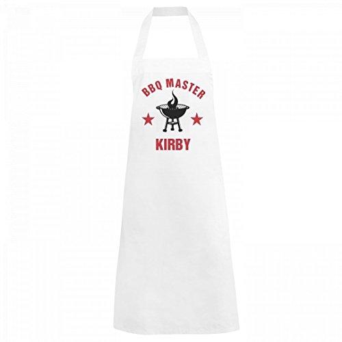 Starfactr BBQ Grill Master Kirby: Basic White Apron