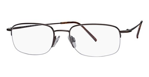 Flexon Flx 806Mag-Set Eyeglasses 218 Coffee 218 Demo 52 19 140 ()