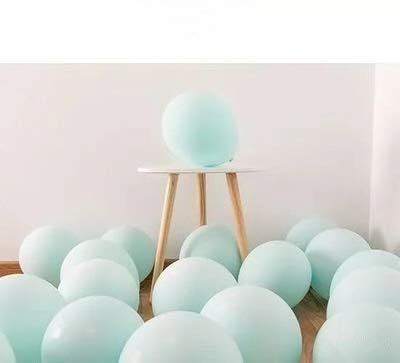 Amazon Com Funry 100 Pack 10 Inch Tiffany Blue Latex Macaron