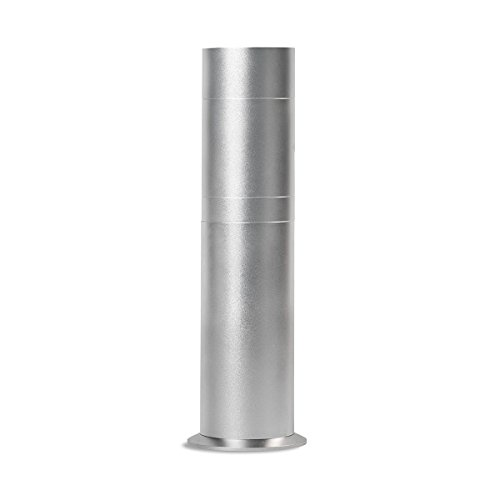 AroMini Essential Oil Scent Cold Air Fragrance Diffuser Air Freshener by AromaTech. (Titanium) by AromaTech