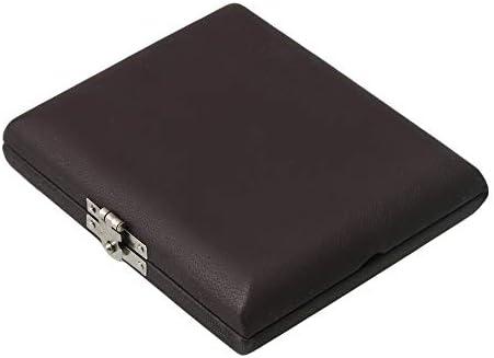 Yibuy - Caja de madera maciza para 6 cañas Oboe, color marrón: Amazon.es: Instrumentos musicales