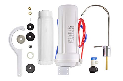 New Wave Enviro 10 Stage Under Sink Water Filter System (Stage Wave New 10)