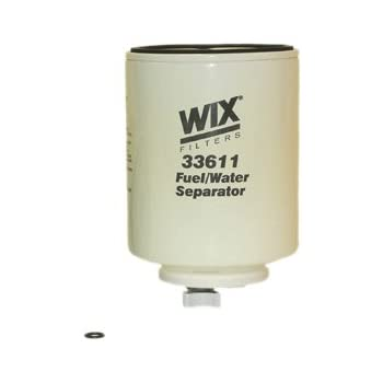 33614 Heavy Duty Spin On Fuel Water Separator WIX Filters Pack of 1